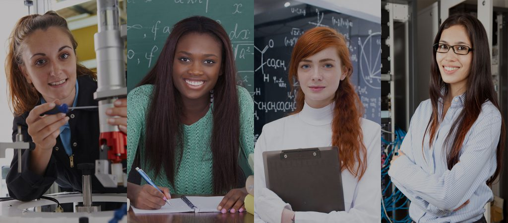 BECAUSE WHEN WOMEN CHOOSE STEM WE ALL WIN